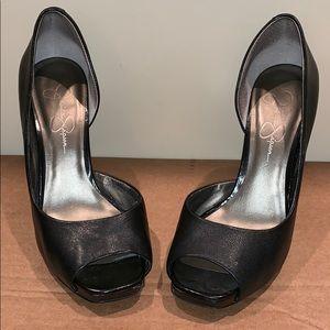 Jessica Simpson Peep Toe